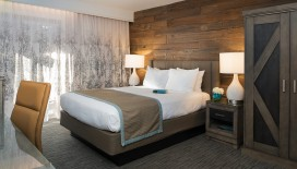 The Single Queen Room has everything that you need for a pleasant stay in South Lake Tahoe.