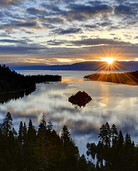 Spice up your stay with an Emerald Bay cruise and take in the amazing views that are one of a kind to South Lake Tahoe
