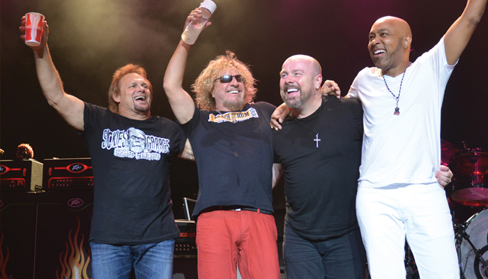 Lake Tahoe Summer Concert Series Sammy Hagar