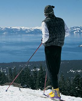 Walk across the pristine meadows and hills by Snowshoeing around Lake Tahoe