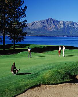 Golfing in South Lake Tahoe