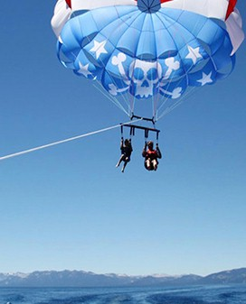 Parasailing, the safest and easiest way to fulfill the adventurer in you.