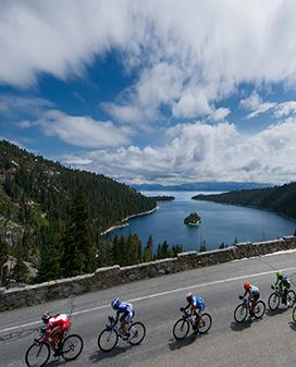 Amgen Tour of California Women's ride