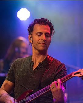 American Rock guitarist, and occasional actor, Dweezil Zappa in South Lake Tahoe